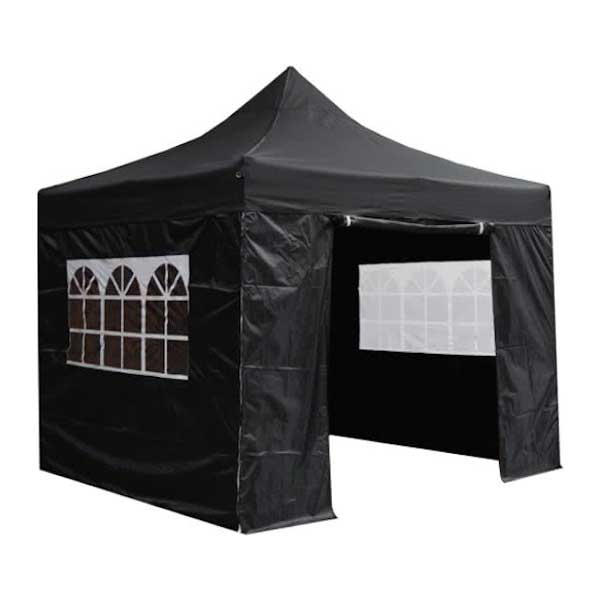 Easy-up tent zwart 3x3 mtr Image